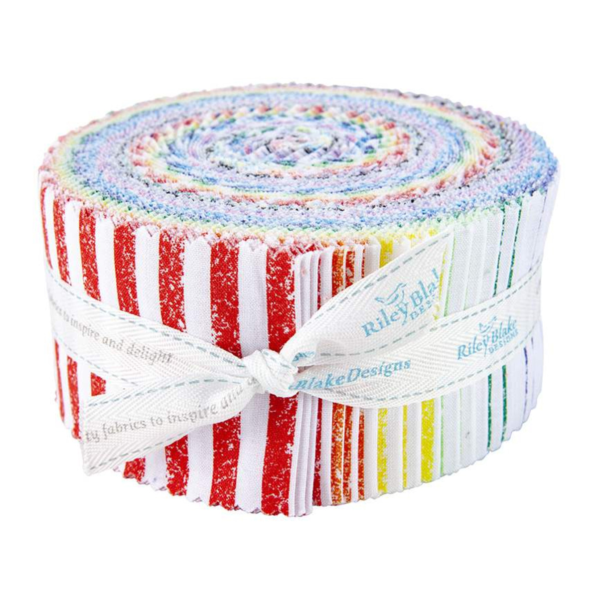 Riley Blake Jelly Roll - Crayola Stripe