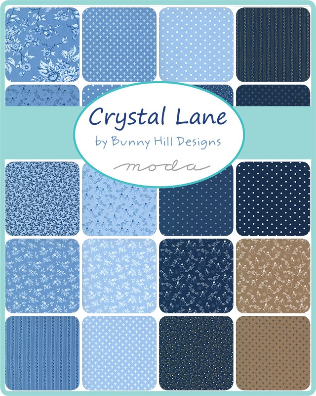 Moda Charm Pack - Crystal Lane by Bunny Hill Designs
