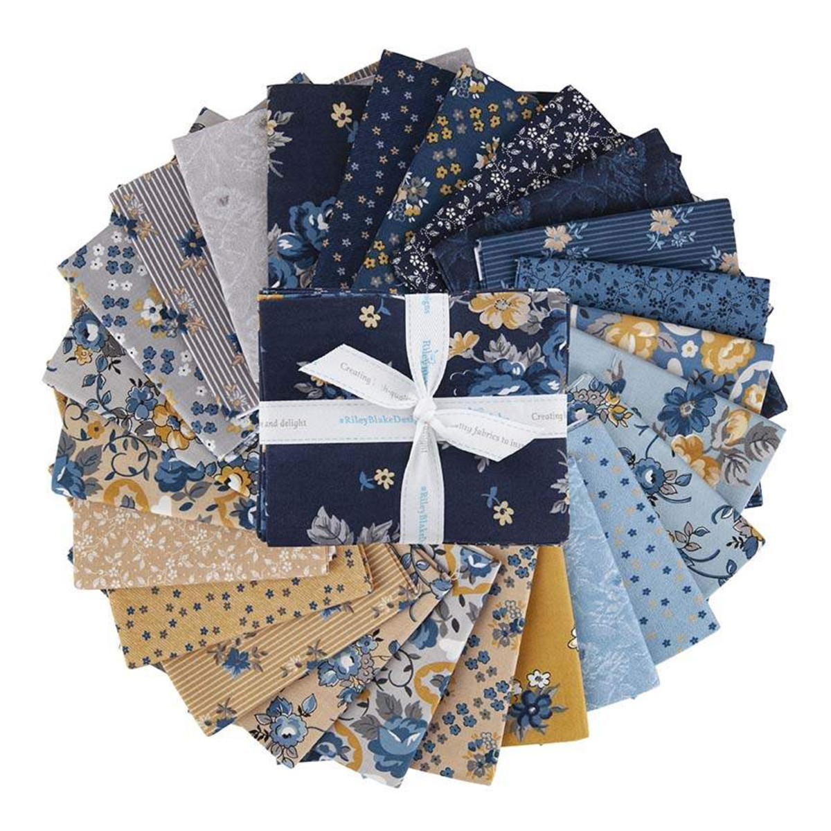 Riley Blake Fat Quarter Bundle - Delightful by Gerri Robinson