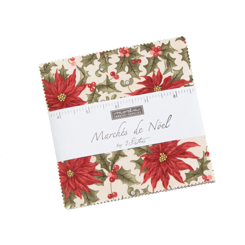Moda Charm Pack - Marches De Noel by 3 Sisters