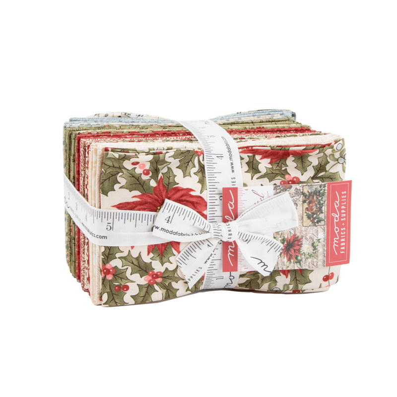 Moda Fat Eighth Bundle - Marches De Noel by 3 Sisters