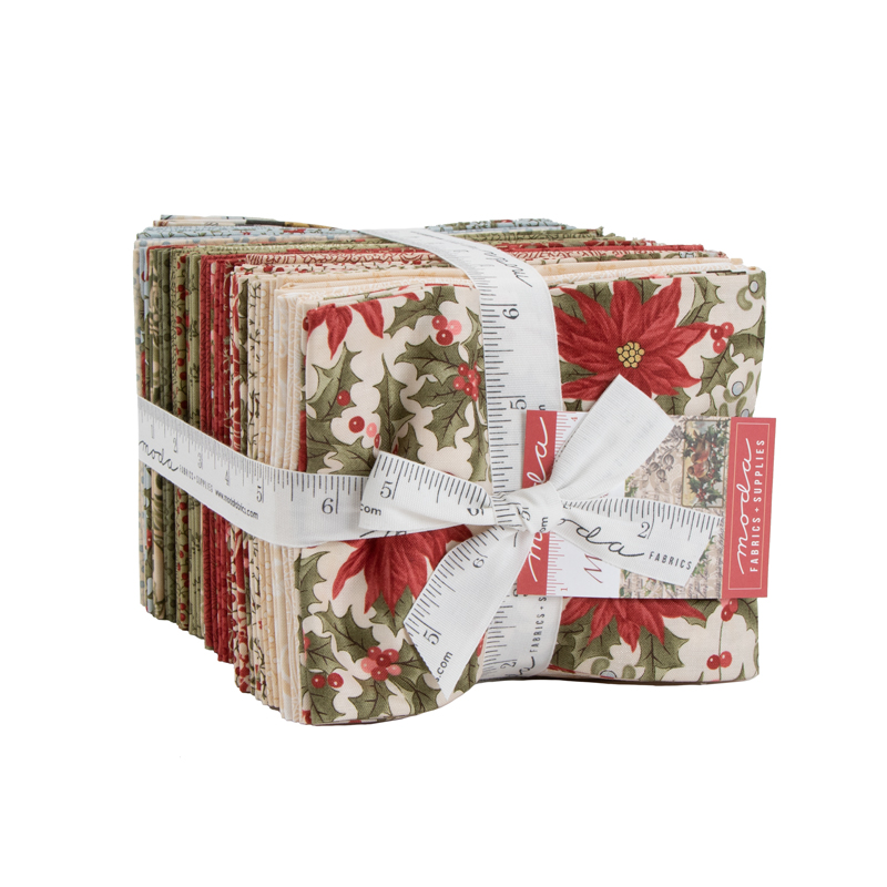 Moda Fat Quarter Bundle - Marches De Noel by 3 Sisters