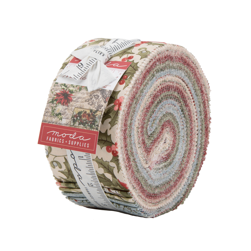 Moda Jelly Roll - Marches De Noel by 3 Sisters