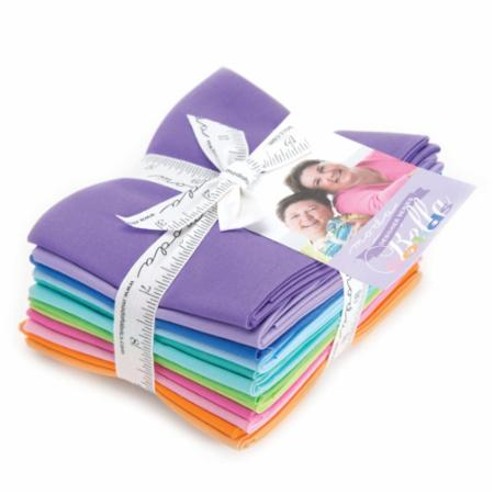 Moda Fat Quarter Bundle - Bella Solids Me & My Sister Selects