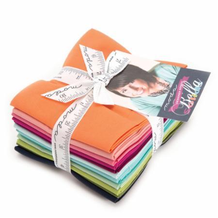Moda Fat Quarter Bundle - Bella Solids V & Co Selects
