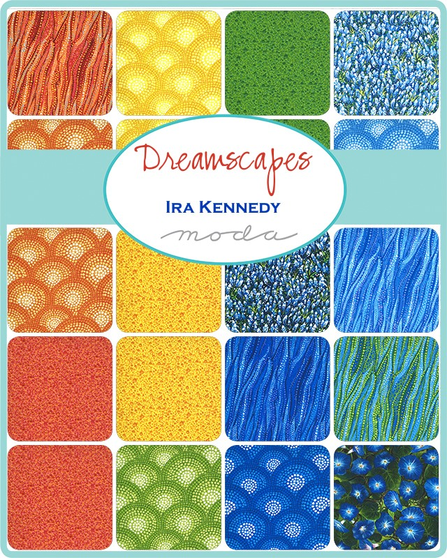 Moda Jelly Roll - Dreamscapes by Ira Kennedy