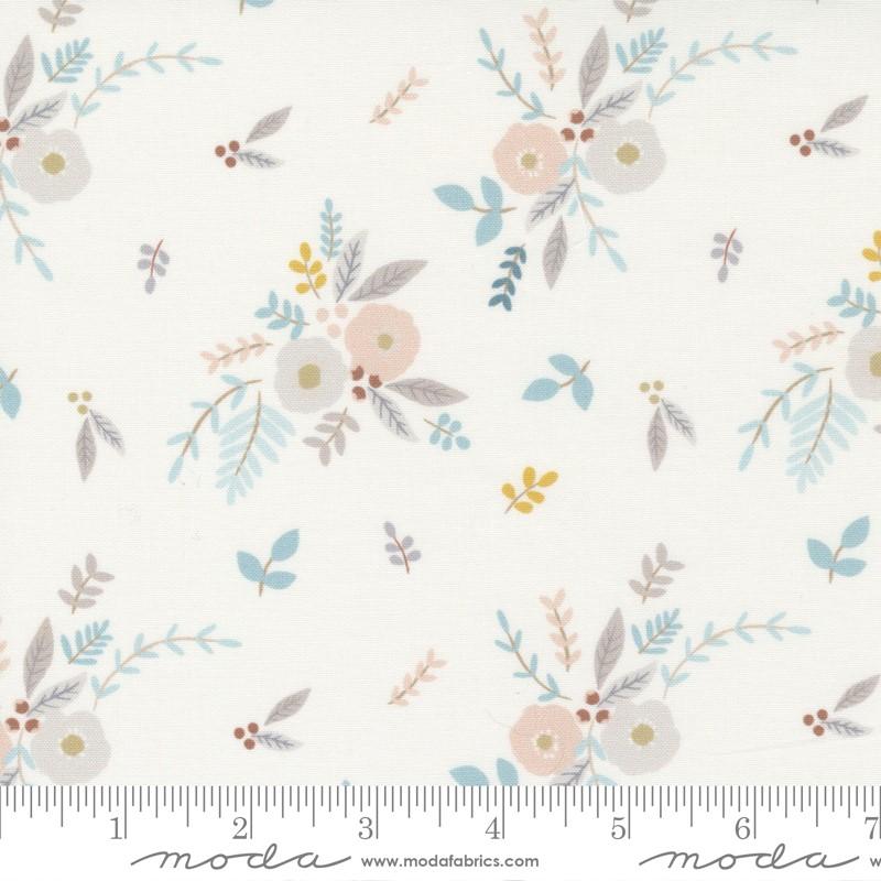 Moda Little Ducklings White 25101 11 Yardage