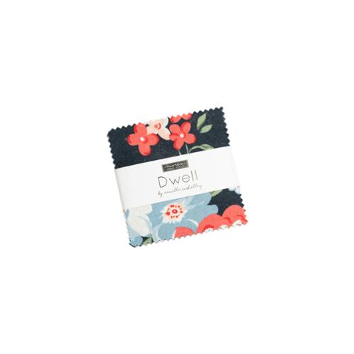 Moda Mini Charm - Dwell In Possibility by Gingiber