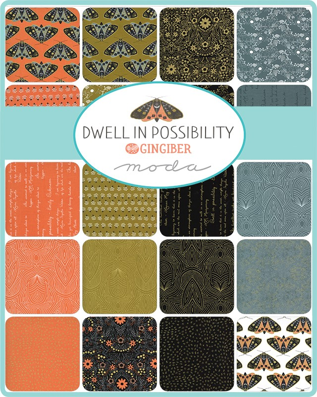 Moda Layer Cake - Dwell In Possibility by Gingiber