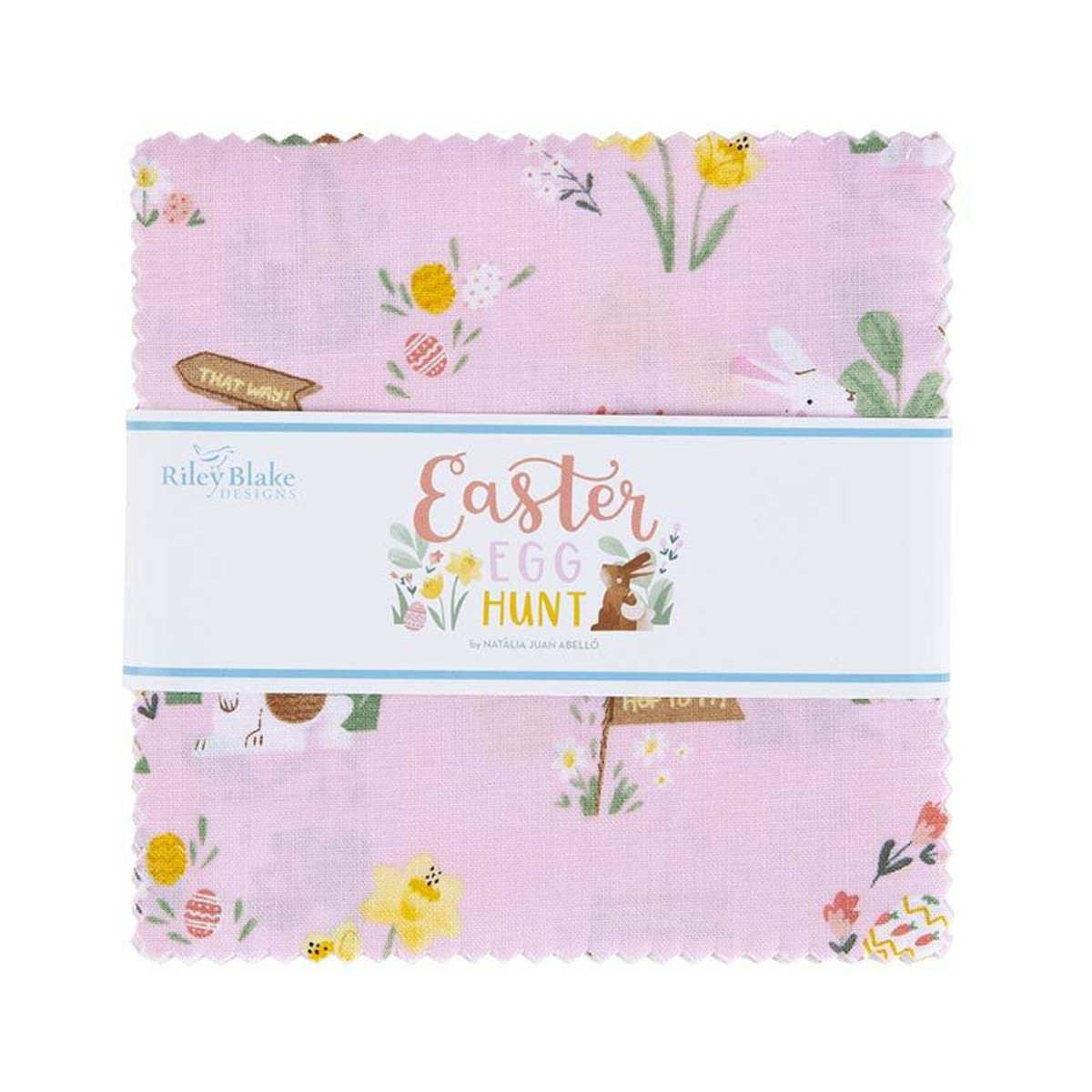 Riley Blake Charm Pack - Easter Egg Hunt