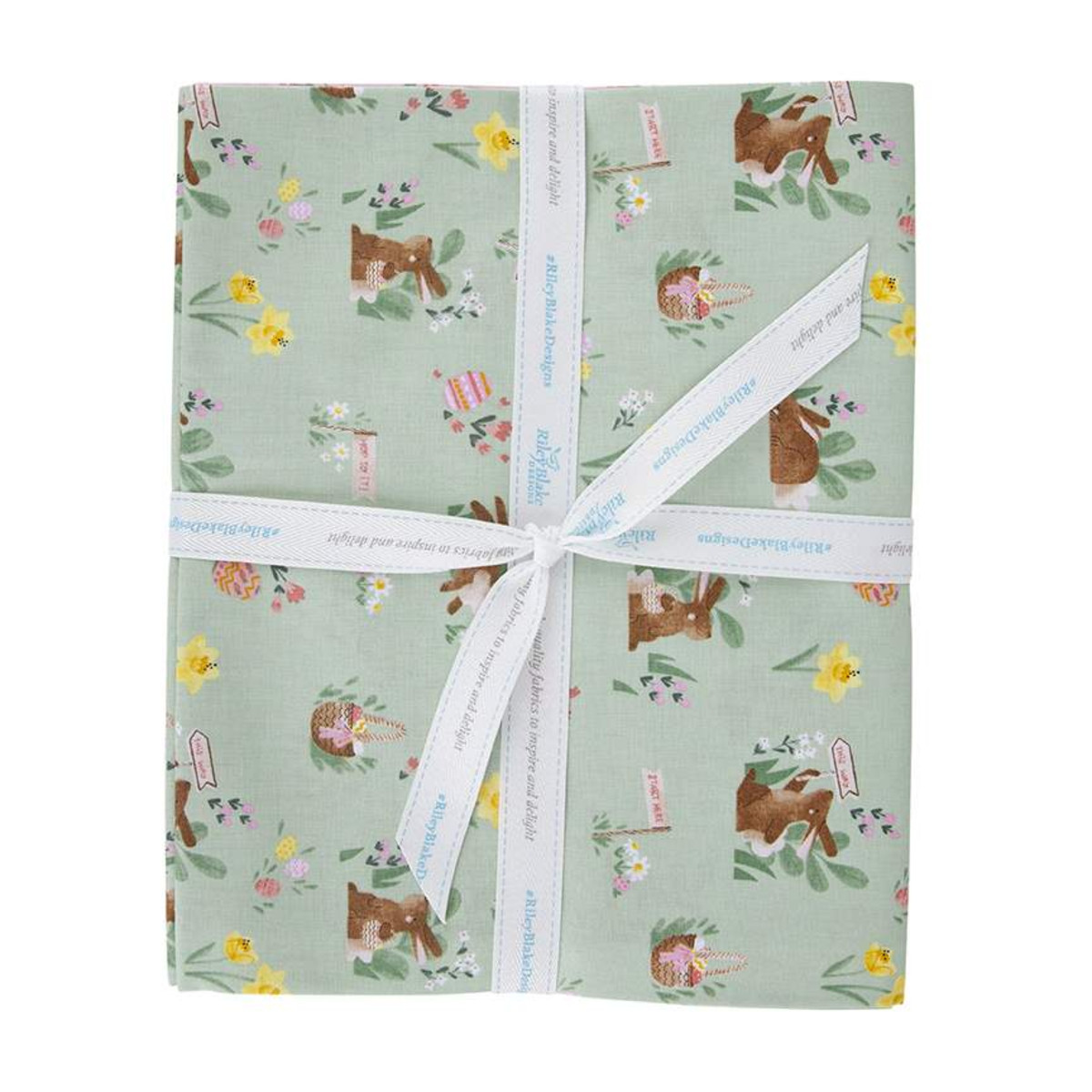 Riley Blake One Yard Bundle - Easter Egg Mint