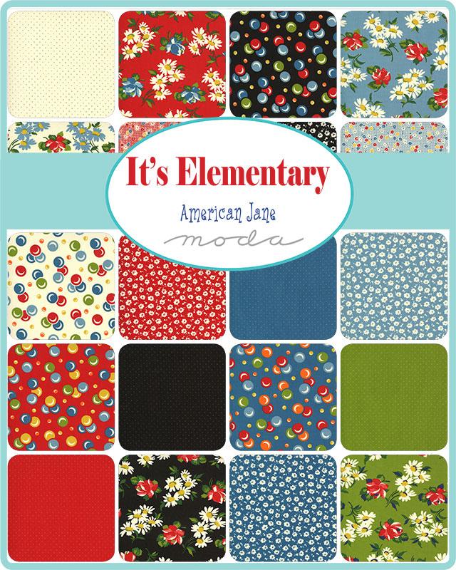 Moda Jelly Roll - It's Elementary by American Jane