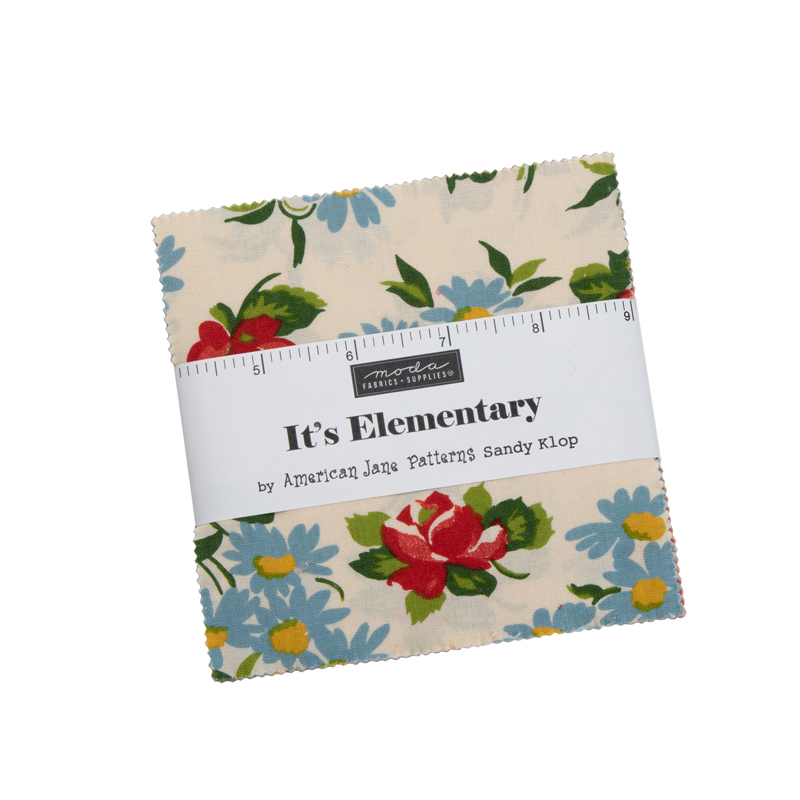 Moda Charm Pack - It's Elementary by American Jane