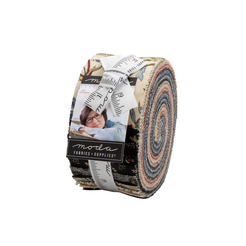 Moda Jelly Roll - Elinores Endeavor by Betsy Chutchian