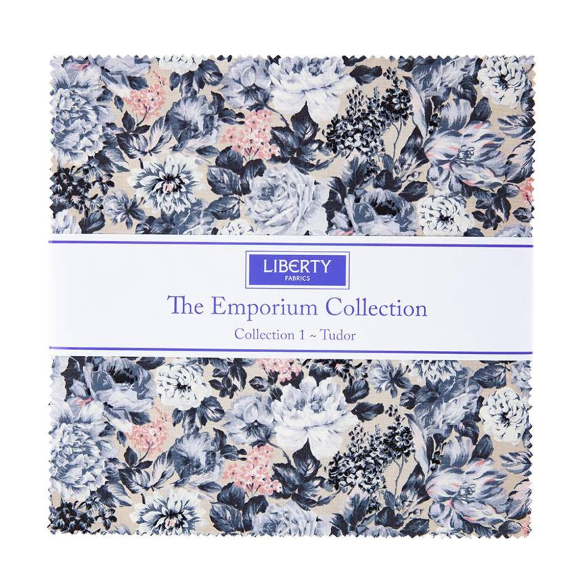 Riley Blake Layer Cake - The Emporium Collection ONE by Liberty Fabrics