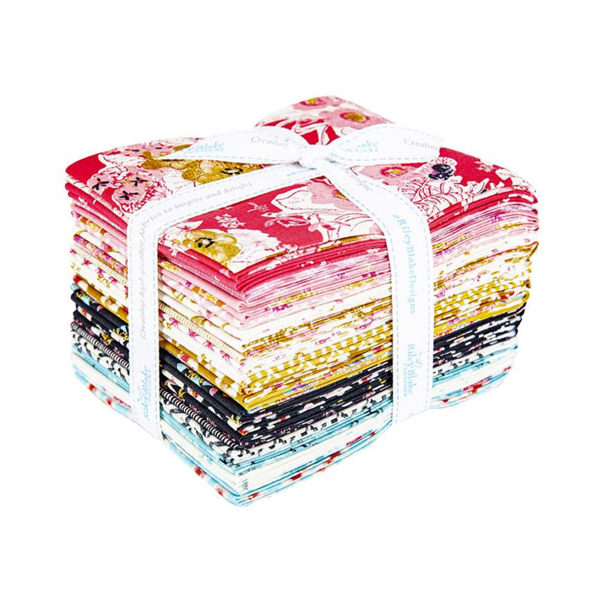 Riley Blake Fat Quarter Bundle - Faith, Hope & Love by Sue Daley
