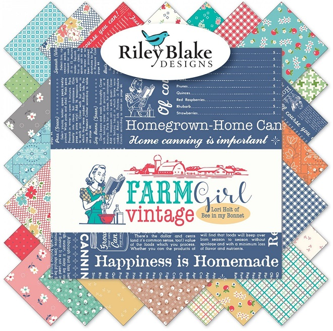 Riley Blake Charm Pack - Farm Girl Vintage by Lori Holt