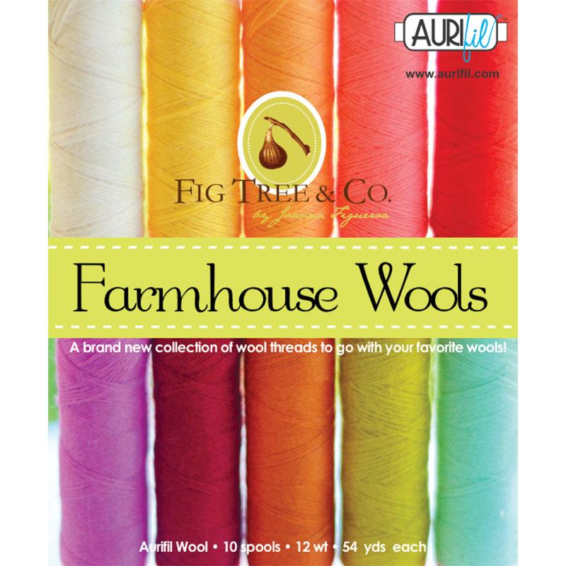 Farmhouse Wool Collection 12wt Aurifil