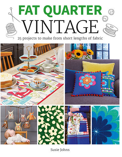 Fat Quarter Vintage Book