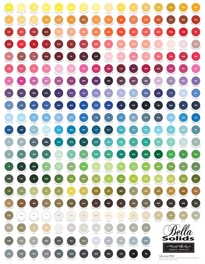 Moda Panel - My Favorite Color Is Moda