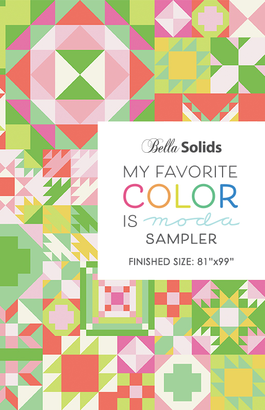 Favorite Color Is Moda Quilt Pattern