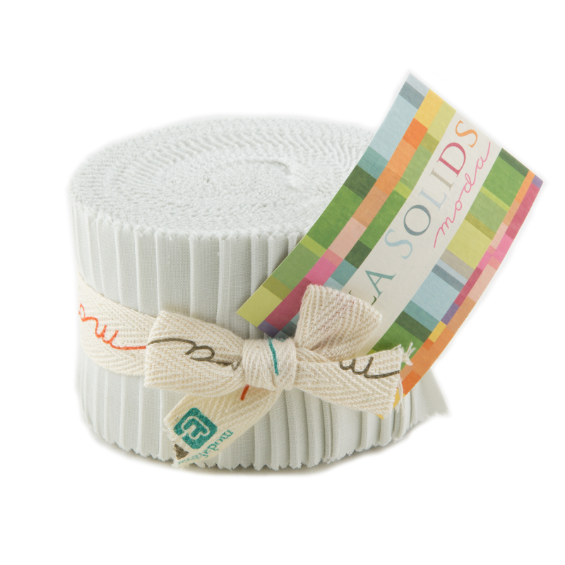 Solids Junior Jelly Roll - Feather 9900 127