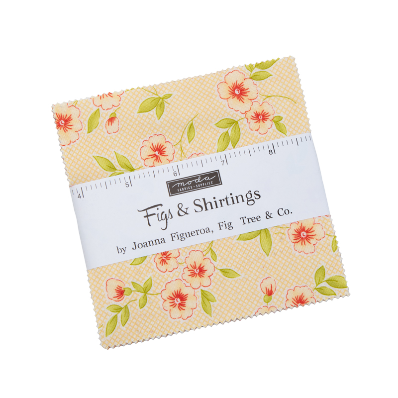 Moda Charm Pack - Figs & Shirtings by Fig Tree