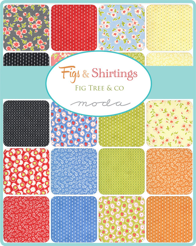Moda Jelly Roll - Figs & Shirtings by Fig Tree