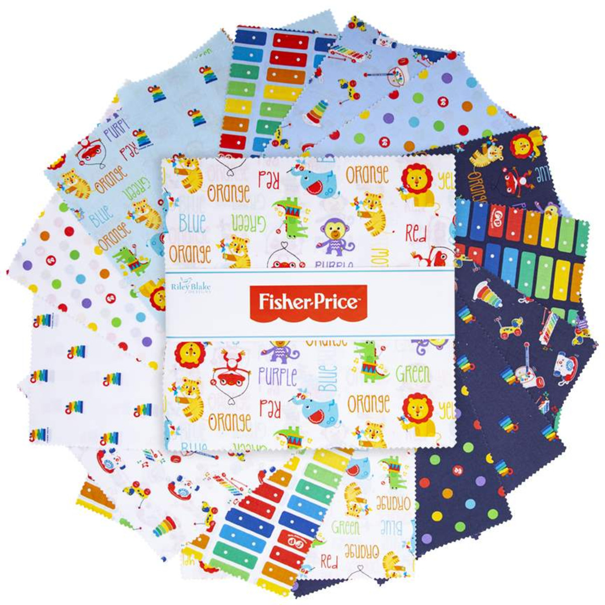 Riley Blake Layer Cake - Fisher Price