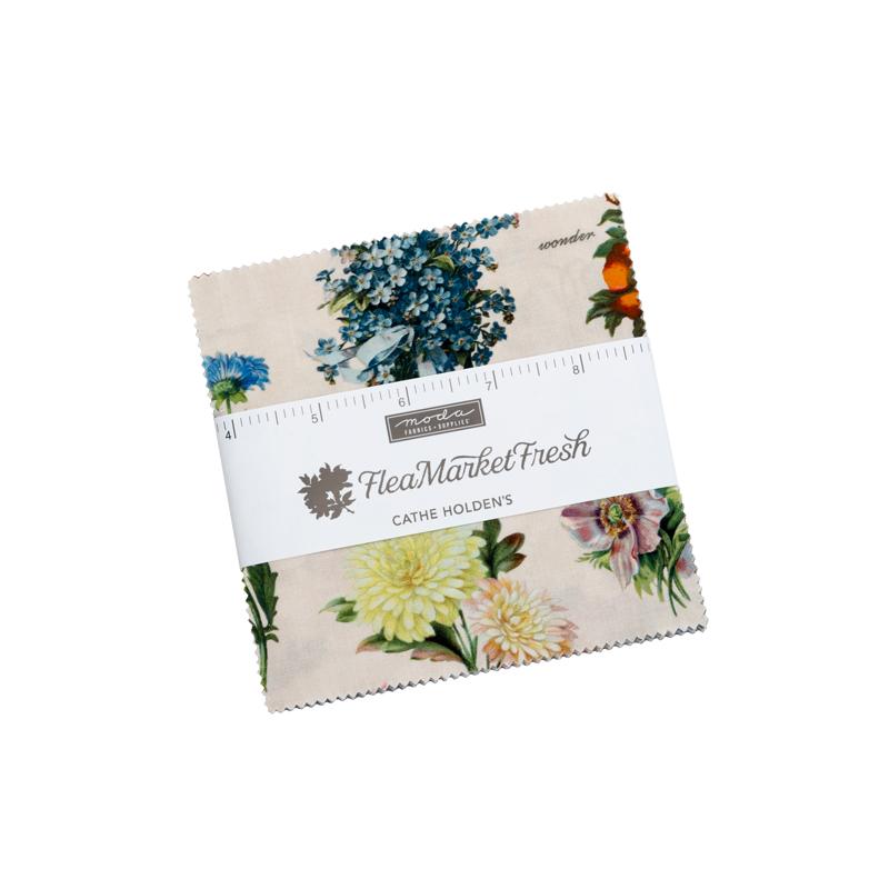 Moda Charm Pack - Flea Market Fresh by Cathe Holden