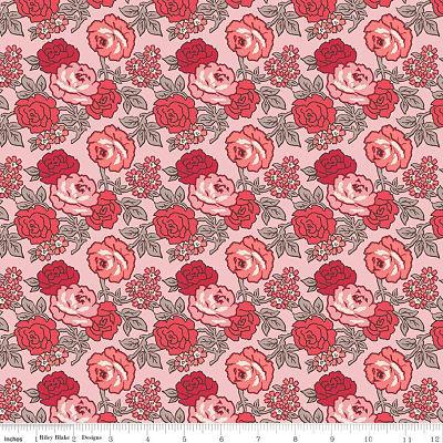 Riley Blake Flea Market Roses Frosting Yardage