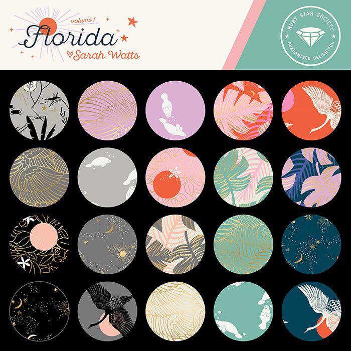 Moda Junior Roll - Florida by Ruby Star Society