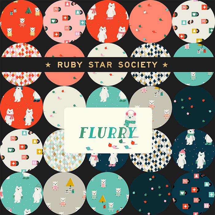 Moda Charm Pack - Flurry by Ruby Star Society