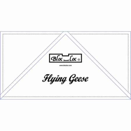 Flying Geese Ruler 5 x 10 Inch
