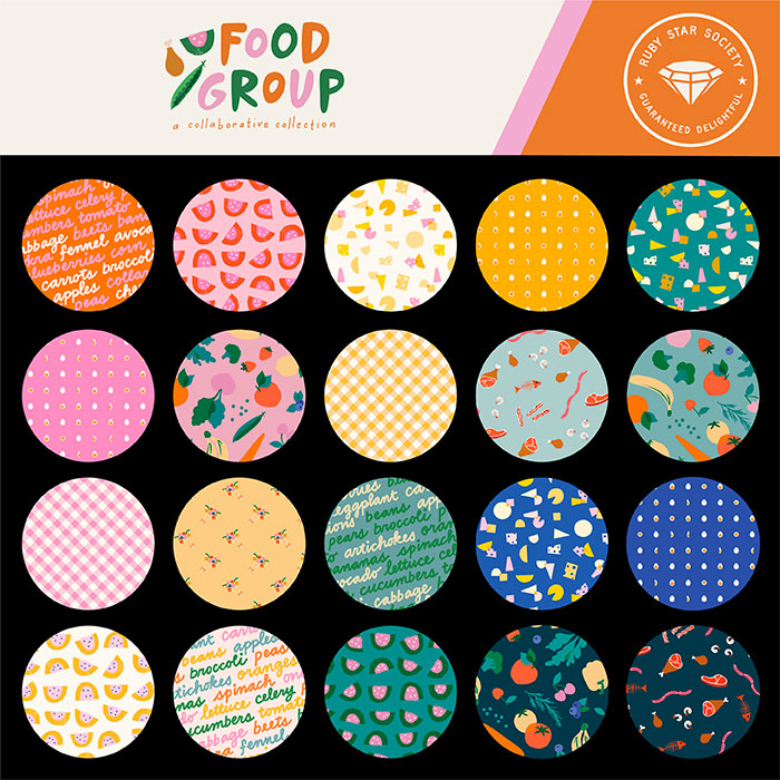 Moda Jelly Roll - Food Group by Ruby Star Society