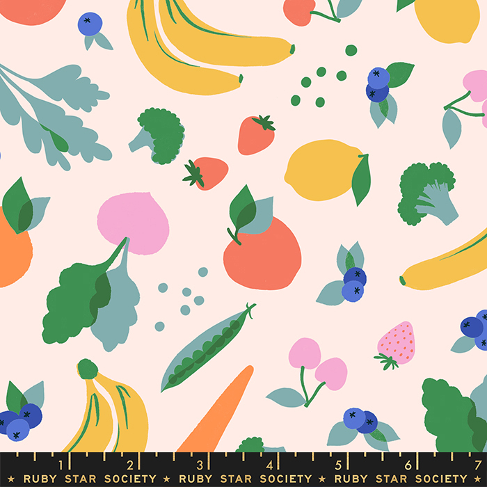 PREORDER - June/21 - Food Group Ballet Yardage by Ruby Star Society