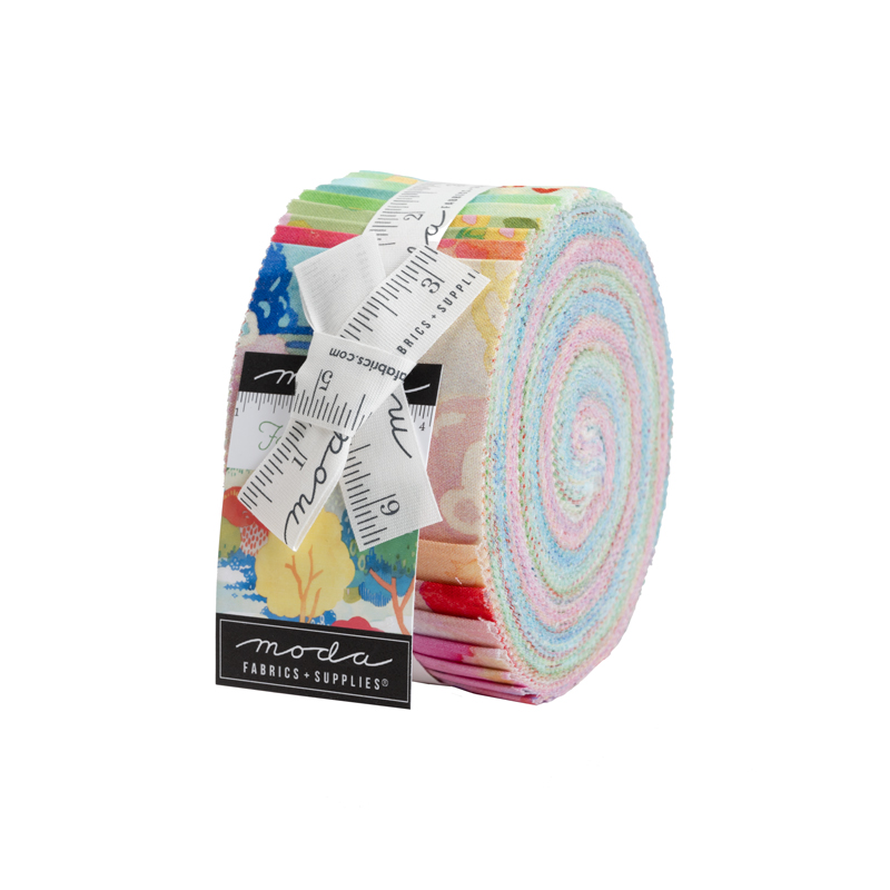 Moda Jelly Roll - Fanciful Forest by Momo