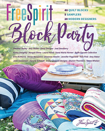 Free Spirit Block Party Book