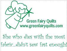 Green Fairy Quilts T-Shirt