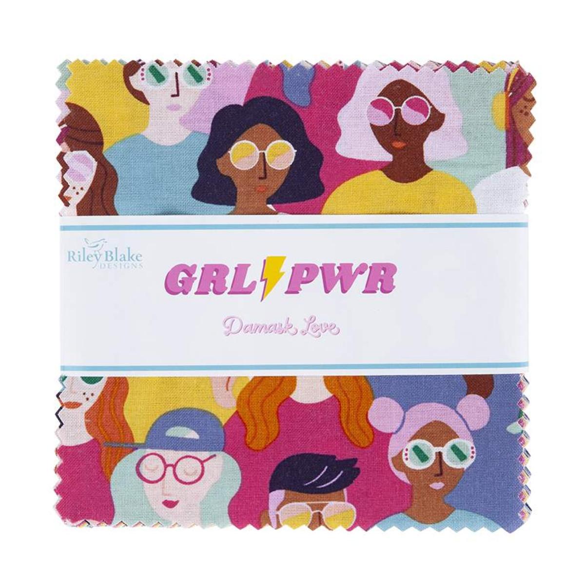 Riley Blake Charm Pack - Girl Power