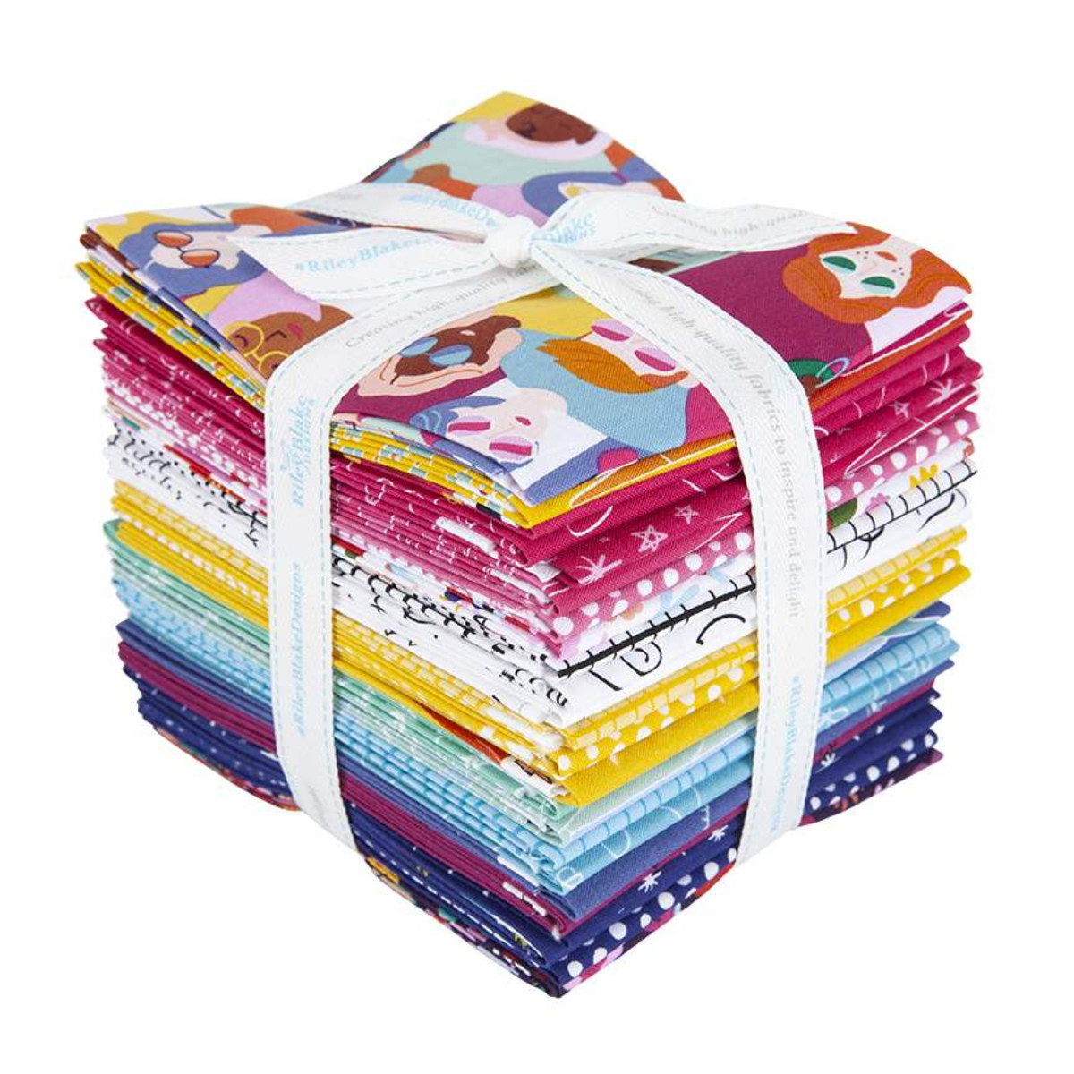 Riley Blake Fat Quarter Bundle - Girl Power