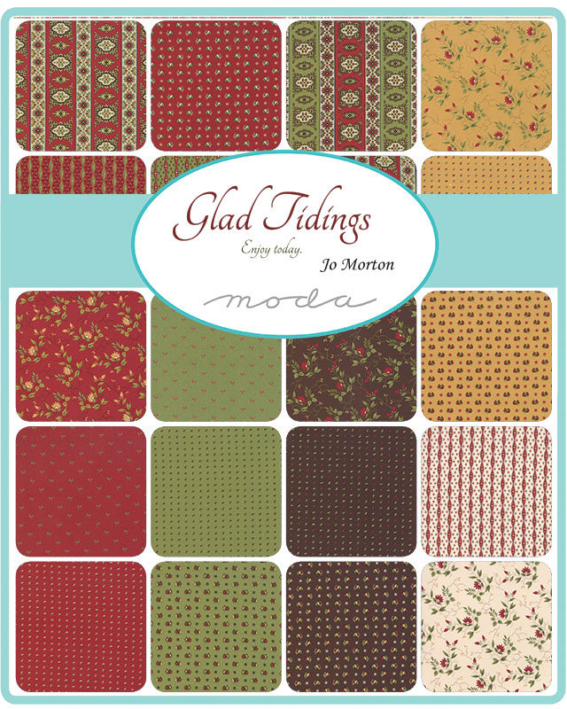 Moda Layer Cake - Glad Tidings by Jo Morton