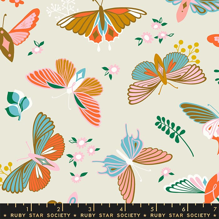 PREORDER - May/21 - Stay Gold Shell Yardage by Ruby Star Society