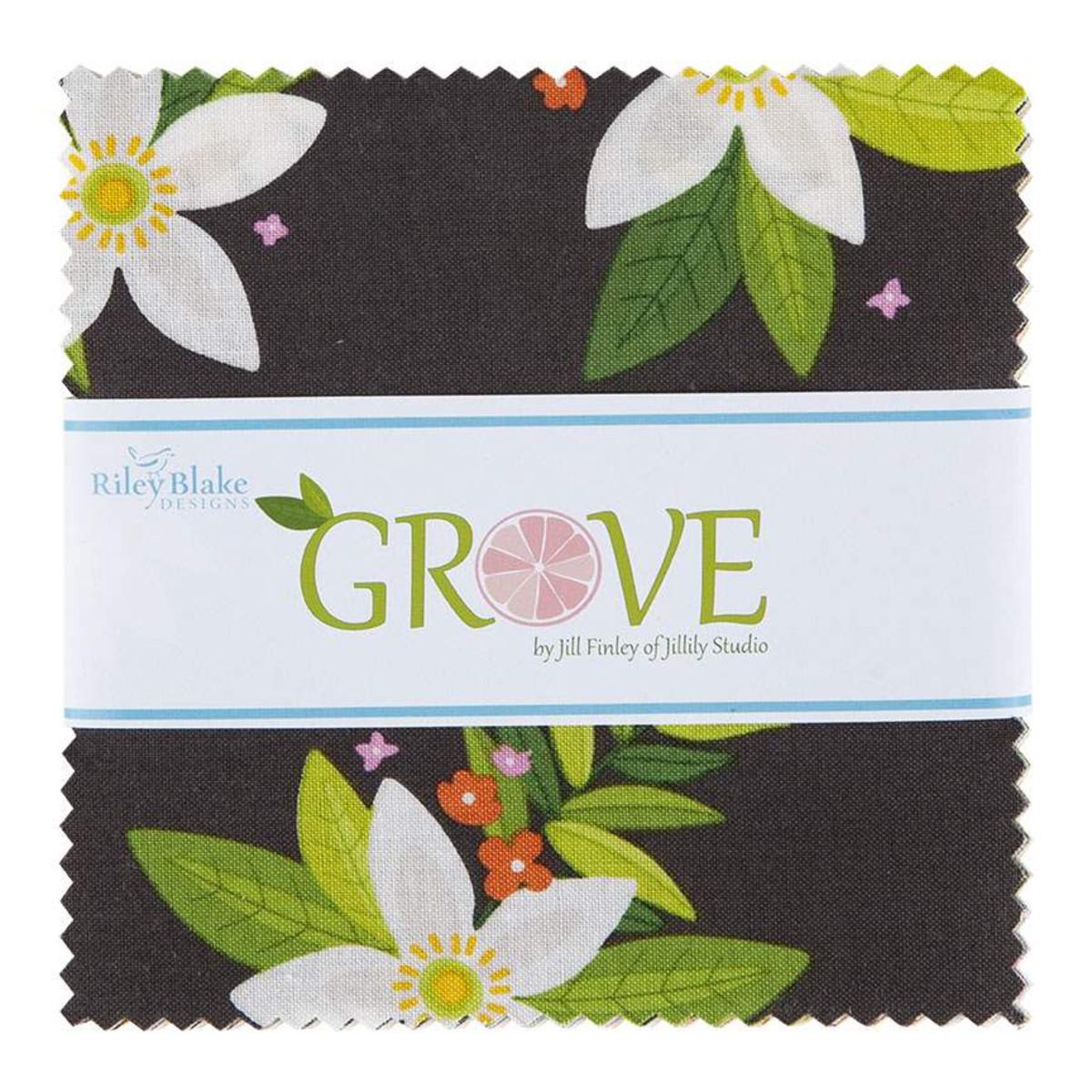 Riley Blake Charm Pack - Grove by Jill Finley