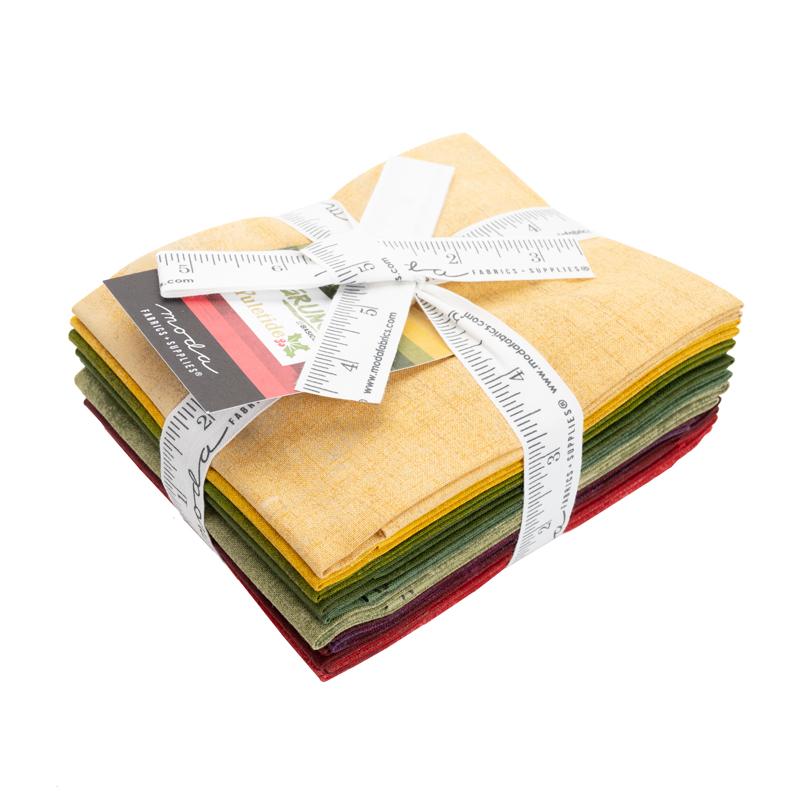 Moda Fat Quarter Bundle - Grunge Yuletide