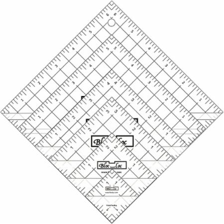 Half Square Triangle Ruler Set Number 1