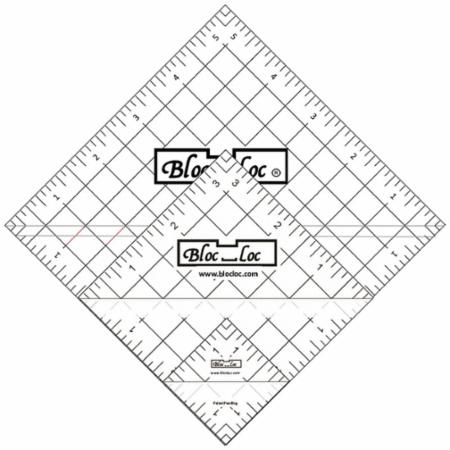 Half Square Triangle Ruler Set Number 3