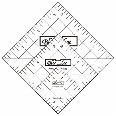 Half Square Triangle Ruler Set Number 4