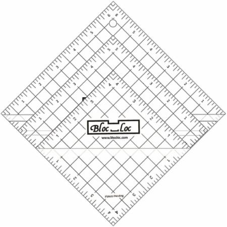 Half Square Triangle Ruler Set Number 5