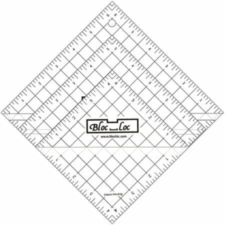 Half Square Triangle Ruler Set Number 5